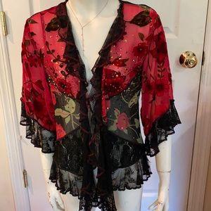 Spencer Alexis Vintage Head Turner Kimono/Jacket